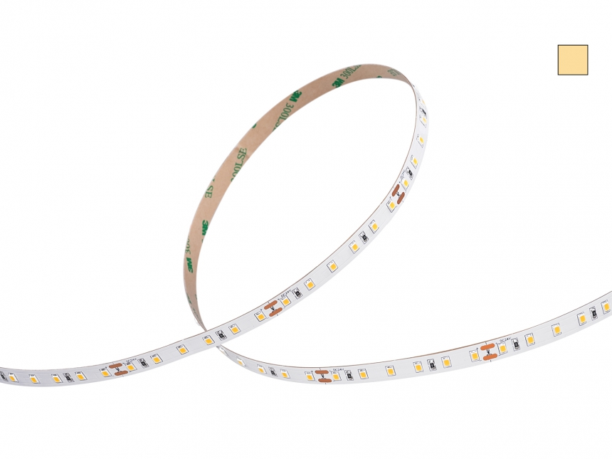 LED Stripe warmweiß 24Vdc 16W/m 1350lm/m 84 LEDs/m 4,0m