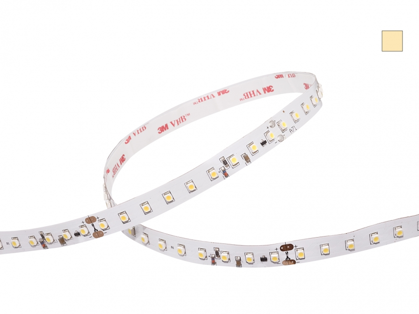 LED Stripe warmweiß 36Vdc 7,2W/m 500lm/m 90LEDs/m KSQ XLine