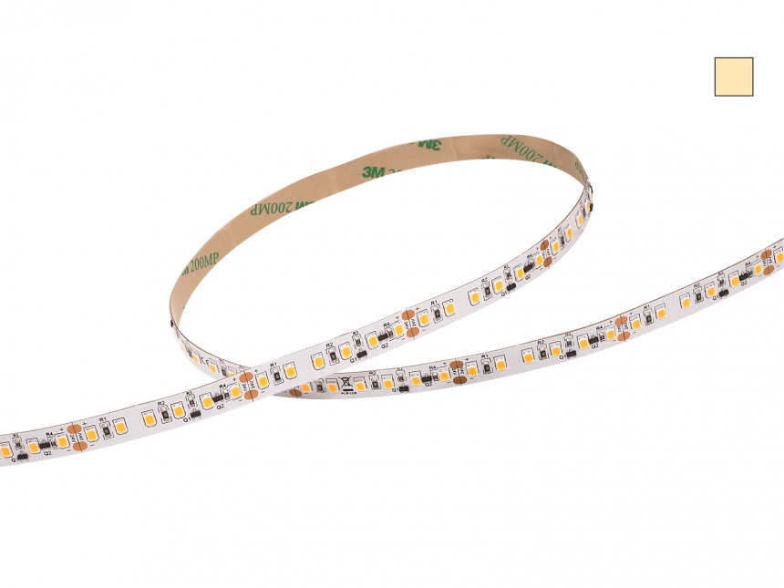 LED Stripe warmweiß 24Vdc 14W/m 1200lm/m 120LEDs/m 1C 1,0m