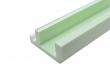 LED Stuckleiste 4 für flexible LED Stripes und Spots 1180mm