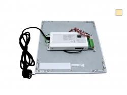 PUR-LED Panel-Light Frame 600 Inkl. Knauf-Revisionsrahmen für Rigips Einbau warmweiß, 100-240Vac, 58W, dimmbar