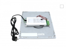 PUR-LED Panel-Light 619 neutralweiß, 100-240Vac, 58W max, CRI 80, 4500 Lumen, dimmbar mit DALI, DMX, 0-10V
