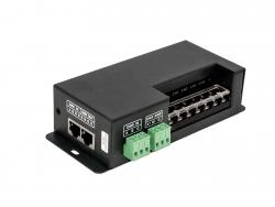 LED Dimmer RGBW DMX 5-24Vdc 4x6A