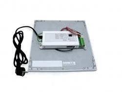 PUR-LED Panel-Light 619 warmweiß 100-240Vac, 58W max, CRI 80, 4600 Lumen, dimmbar mit DALI, DMX, 0-10V