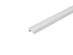 LED Aluminium Profil XXLine Define, mit Abstrahlung ca. 180° oder 120°, silber eloxiert, mit Abdeckung