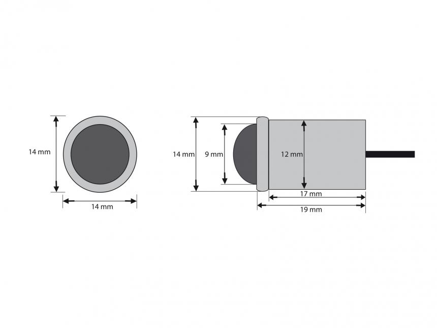 Bodeneinbauleuchte Marinera 12Vdc warmweiß