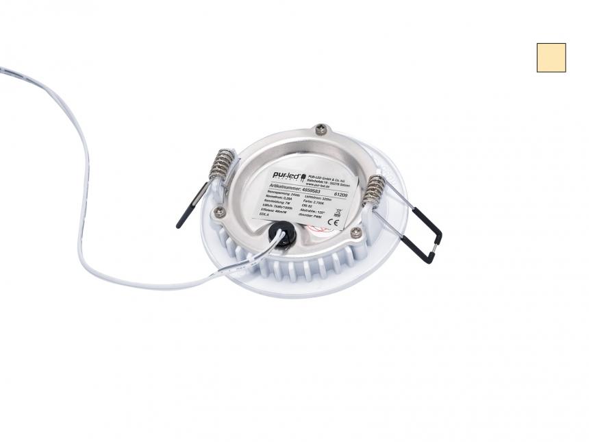 DUAL LED Deckenleuchte Monaco S2 95mm 24Vdc dualweiß CCT