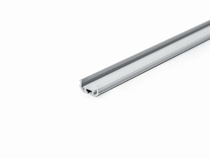 LED Alu Kühlprofil edge-line1 Eck 1,0m transparent