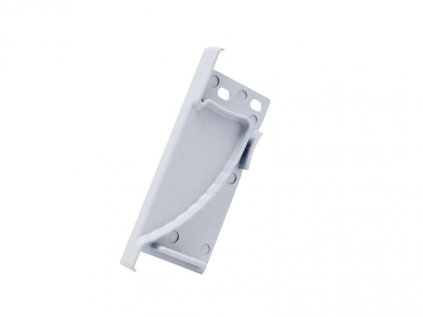 Endkappe links LED Alu Wandeinbauprofil Kunststoff