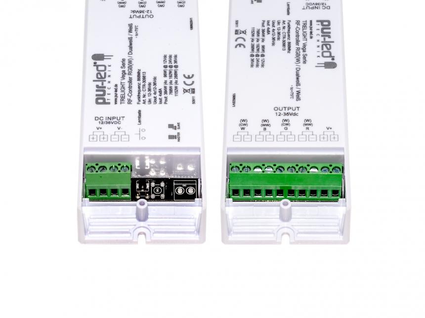 Dual LED Controller TRELIGHT Vega Dualweiß: 12-36Vdc/2x8A CV