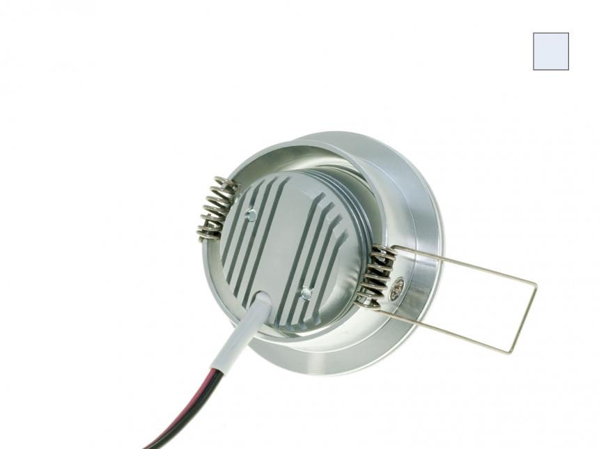 LED Einbauleuchte Cursa-In 700mA kaltweiß