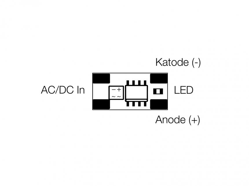 KSQ Micro Konstantstromquelle 5mA Platine 37Vdc max.