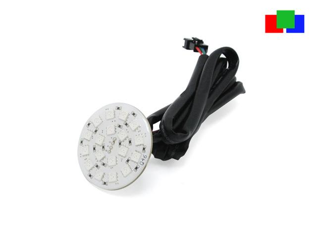 RGB LED Platine gem. Plus für Deckeneinbau 24Vdc unvergossen