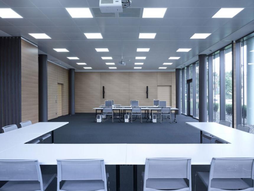 PUR-LED Panel-Light 595 100-240Vac kaltweiß