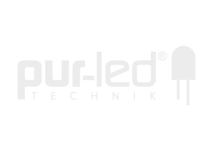 LED Alu U-Profil AL-PU2 7mm mit Abdeckung 2,0m weiß