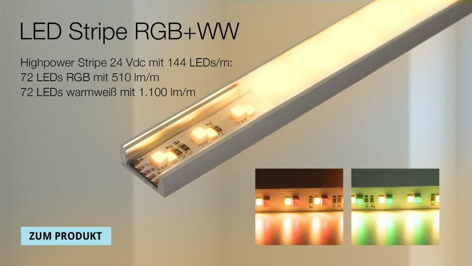 LED Shop | Strips | Controller | Netzteile | Profile | PUR-LED
