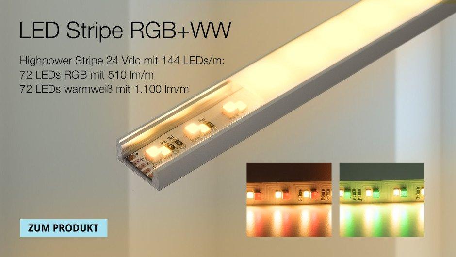 LED Stripe RGB-warmweiß-kaltweiß