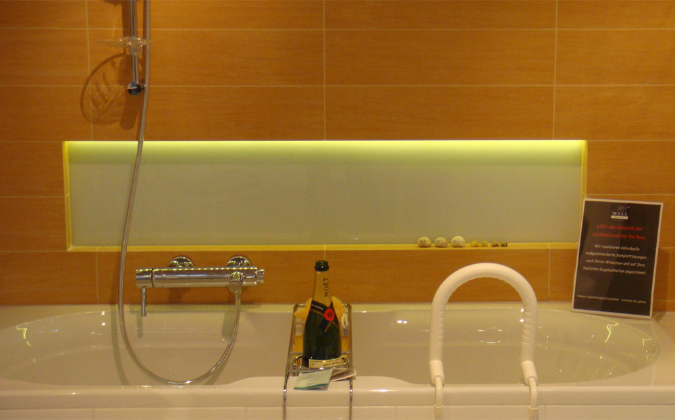5m Rolle flexible LED-Leiste vergossen, IP65 12V warmweiß
