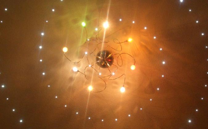 PUR-LED Sternenhimmel LED-Leuchte warmweiß12Vdc standard -Juno-